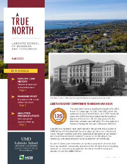 True North, Fall 2020 newsletter cover