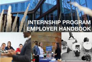 Internship Program Employer Handbook