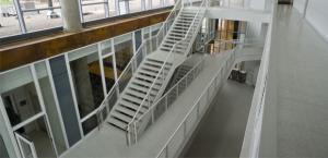LSBE atrium stairs