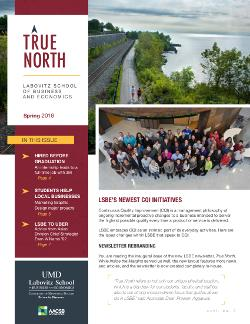 True North Spring 2018 LSBE newsletter cover
