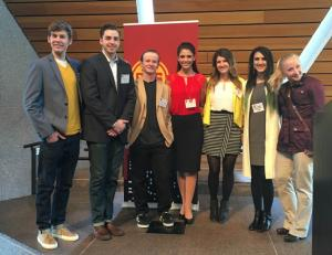 UMD MGD students attend the Student Advertising Summit at the University of Minnesota.