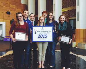 ReMAP students Midwest Undergraduate Data Analytics Competition 2015