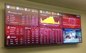 Wells Fargo lab Rise Display