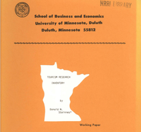 Tourism Research Inventory, by BBER Director Donald N. Steinnes, 1988