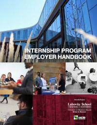 LSBE Internship Program Employer Handbook cover image