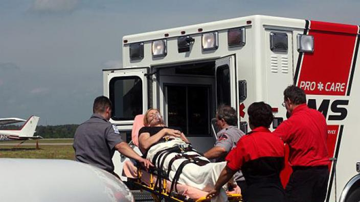 Medical Transfer Patient Ambulance