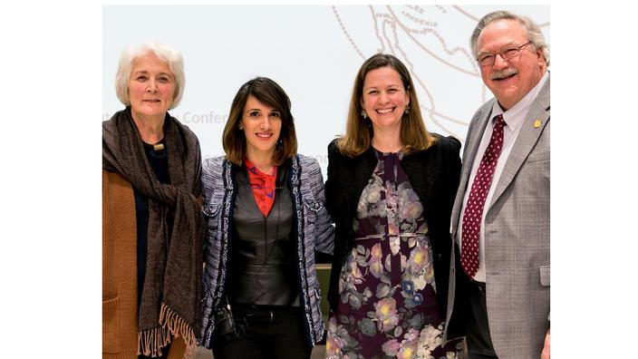 Judy Teske , Amy Whitaker, Suri Al Namir, Chancellor Black