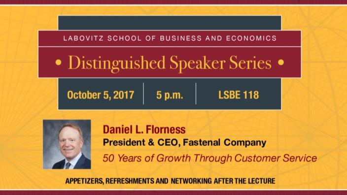 Daniel L. Florness Distinguished Speaker Series