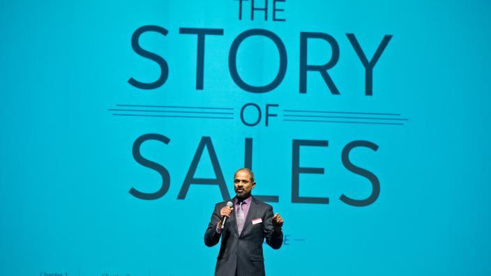 Rajiv Vaidyanathan at LSBE sales event
