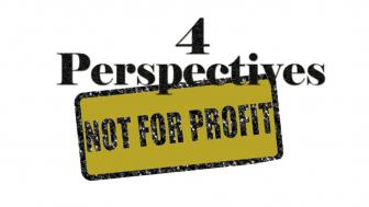 """4 Perspectives"" Not for Profit logo"