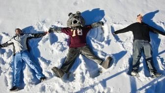 UMD snow angels