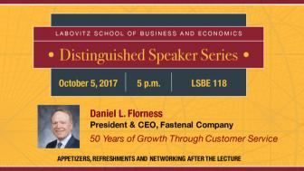 Daniel L. Florness Distinguished Speaker Series