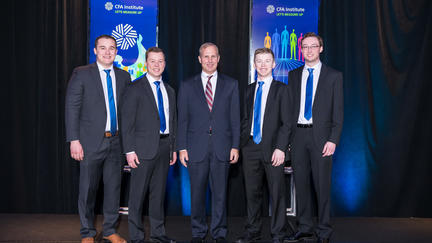2018 Financial Markets Team with Joe Artim