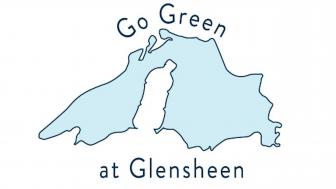 Go Green at Glensheen Logo