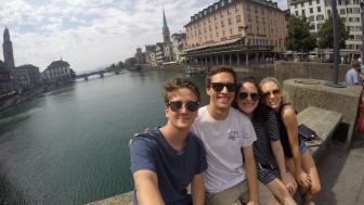 Matthew Bisanz and friends in Europe