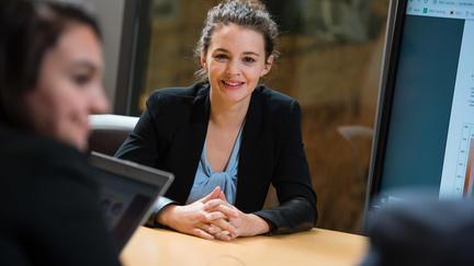 Female MBA student