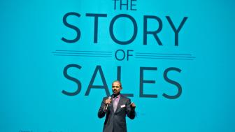 Rajiv Vaidyanathan at LSBE sales event