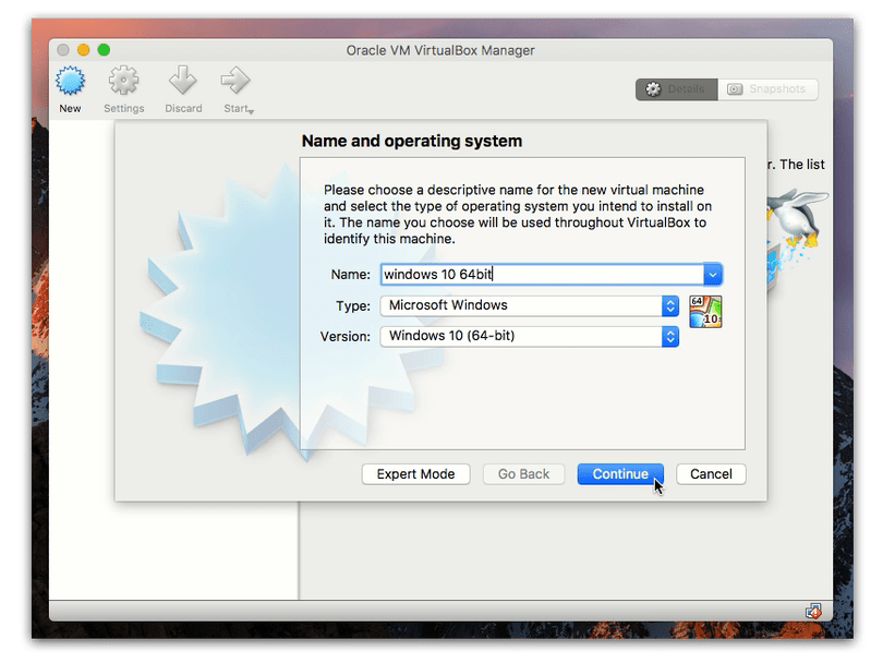 virtual machine software for mac