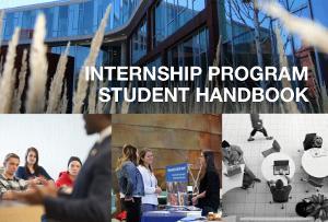 LSBE Internship Program Student Handbook Cover