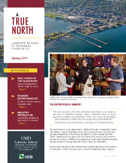 True North, LSBE Newsletter Spring 2019 cover