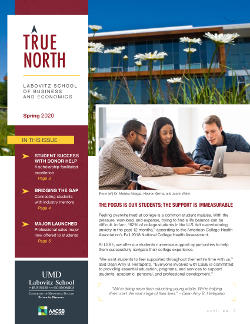 LSBE True North Spring 2020 Newsletter cover