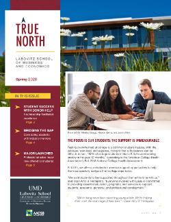 LSBE True North Spring 2020 Newsletter cover
