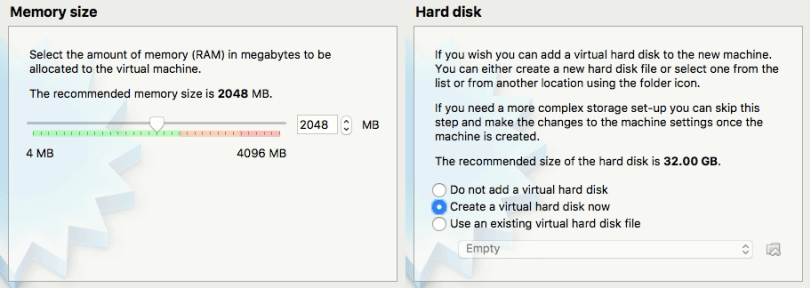 Memory and hard disk