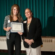 Kevin Baron Memorial Scholarship - Alexandra Rudin and Dean Amy B. Hietapelto