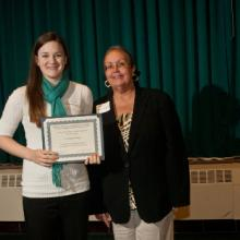 Labovitz Family Scholarship - Courtney Koenig and Dean Amy B. Hietapelto