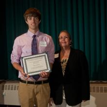 Lloyd and Audrey Ratkovich Family Scholarship - Wade Wilhelmi and Dean Amy B. Hietapelto