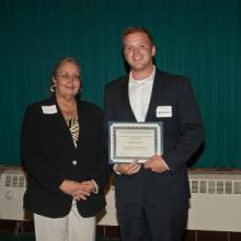 Jack Watson Memorial Scholarship - Dean Amy B. Hietapelto and Tim Dawson