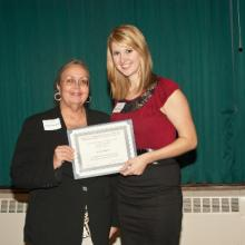 Charles and Selma Wuori Memorial Scholarship - Katie Slindee and Dean Amy B. Hietapelto