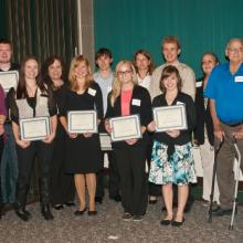 Campus-wide Scholarship Recipients and Donors