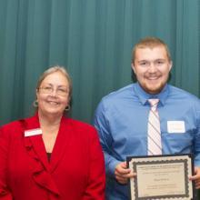 Kevin Baron Memorial Scholarship - Dean Amy B. Hietapelto and Shaun Mattson