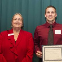 Jeffrey Hovis Business and Environmental Studies Scholarship - Dean Amy B. Hietapelto and Matthew Petinelli