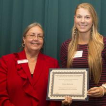 Labovitz Family Scholarship - Dean Amy B. Hietapelto and Kristin Buttweiler