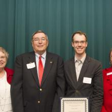 L.J. Syck Scholarship - Fran and LJ Syck, Gregory Botts, and Dean Amy B. Hietapelto