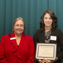 Evan Michael Williams Scholarship - Dean Amy B. Hietapelto and Emily LaCount