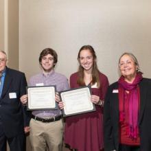 Alan L. Apter Financial Planning Program Scholarship - Katherine Northouse - Isaac Taplin