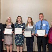 Alan L. Apter Scholarship- Megan Stemper-Abigail Mickelson-Christian Anderson-Samantha Plante