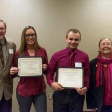 Construction Financial Management Association Scholarship - Jenna Kalin - William Fournier