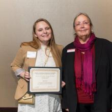 Dr. Jerrold M Peterson Scholarship - Jenna Lee