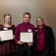 Drazkowski Family Scholarship - Hannah Karl - William Fournier