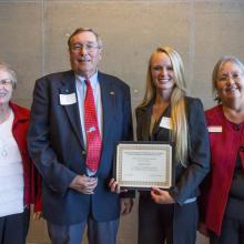 L.J. Syck Scholarship, Angela Kruck