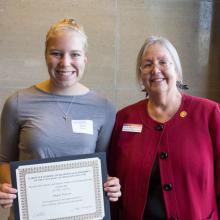 Charles and Sharon Anderson Entrepreneurship Scholarship, Megan Hanson