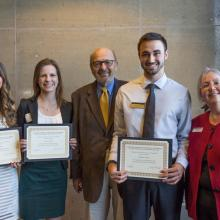 Charles E. House Scholarship, Brandon Colucci, Stacey Rother, Caitlyn Walker