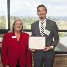 Charles and Sharon Anderson Entrepreneurship Scholarship, Andrew Weisz