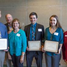 David and Louise Gartzke Scholarship, Megan Roers, Ryan Woitalla, Samuel Lynch
