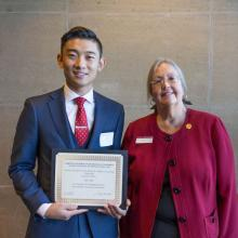 David T. and Andrea K. Walkosz Accounting Scholarship, Jesse Pai