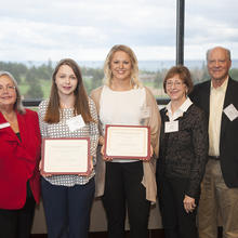David and Louise Gartzke Scholarship, Megan Roers, Jennifer Larsen